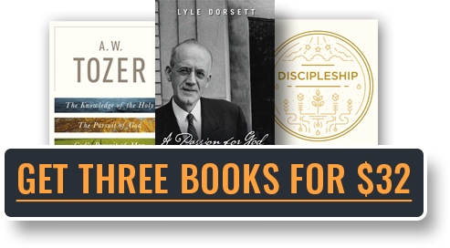 Get All 3 Books For $32